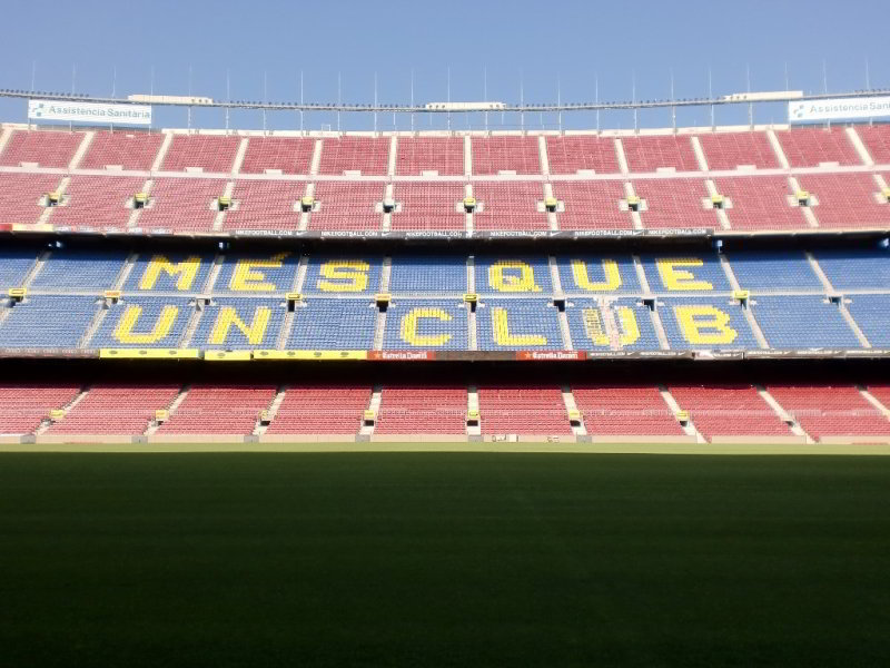 Visita al Camp Nou y Museo del Barça