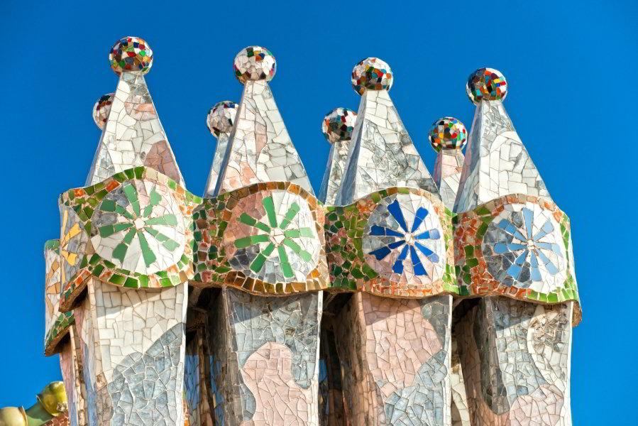 Chimeneas de la Casa Batlló