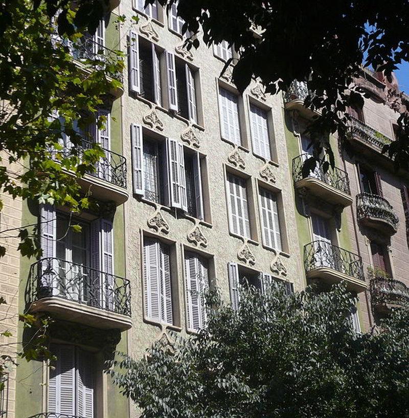 Casa Granell. Foto: Pere López