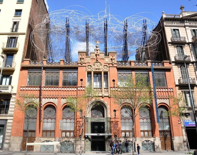 Fundación Antoni Tàpies© Fotografia: Lluís Bover, 2013.© Fundació Antoni Tàpies, 2013.