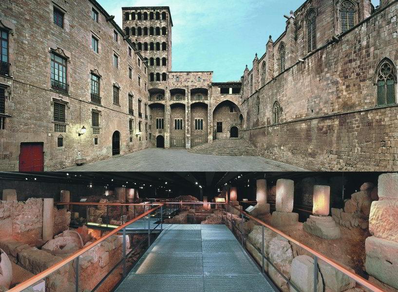 Museo de Historia de la Ciudad, Arriba y abajo.