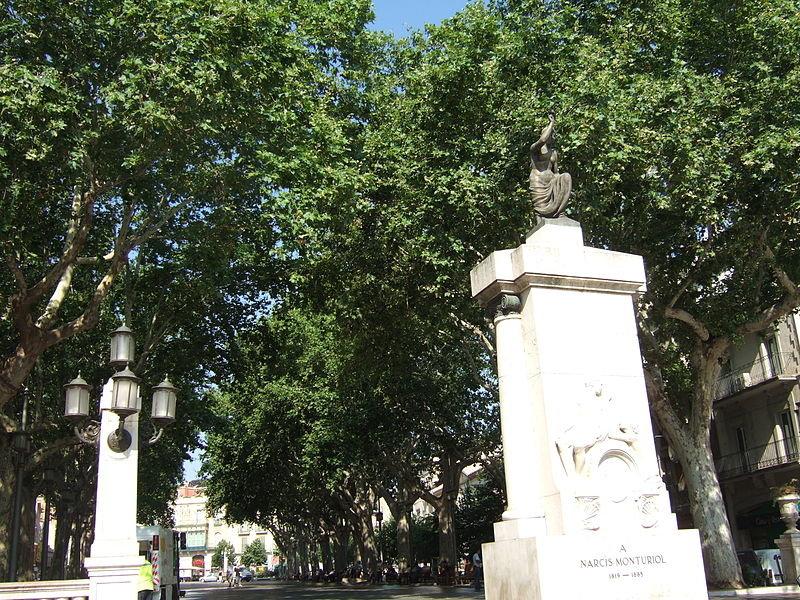 Monumento a Narcís Monturiol. Foto: Francesc Vernet López