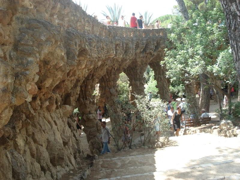 Senderos del Parc Güell