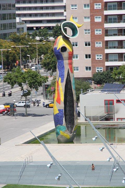 Dona i Ocell, Parque Joan Miró