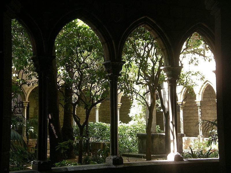 Claustro de la Iglesia de Santa Anna