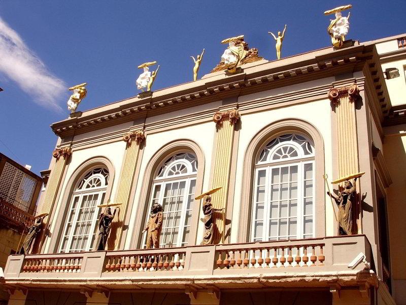 Balcón del Teatro - Museo Dalí