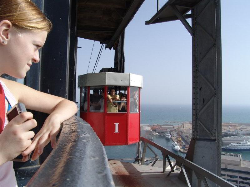 Teleférico en Barcelona