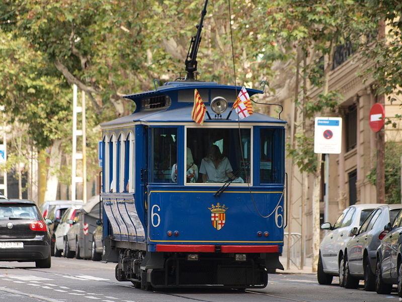 Tranvía Azul de Barcelona