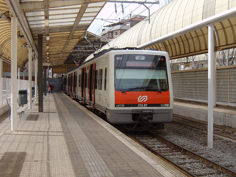 Ferrocarril en Barcelona