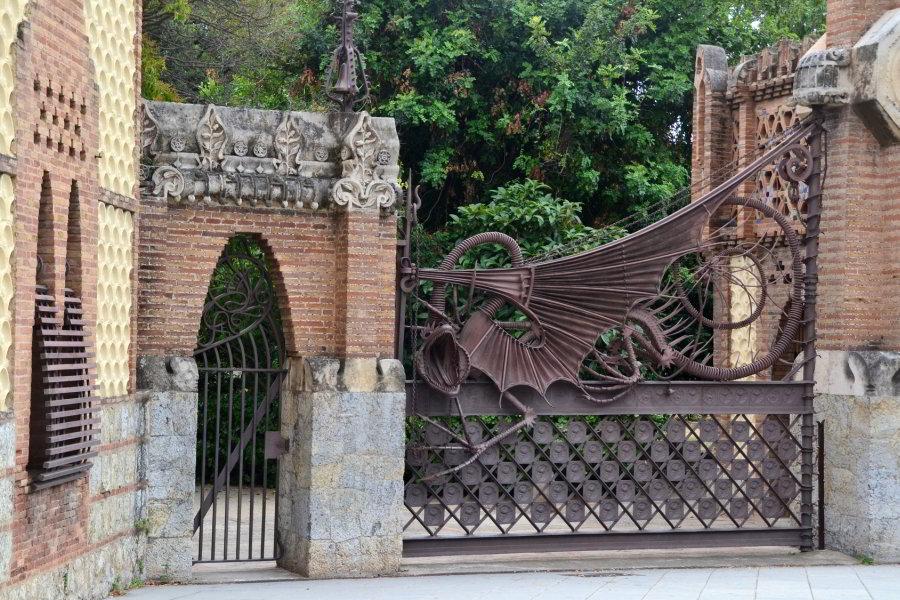 Entrada a los Pabellones Güell