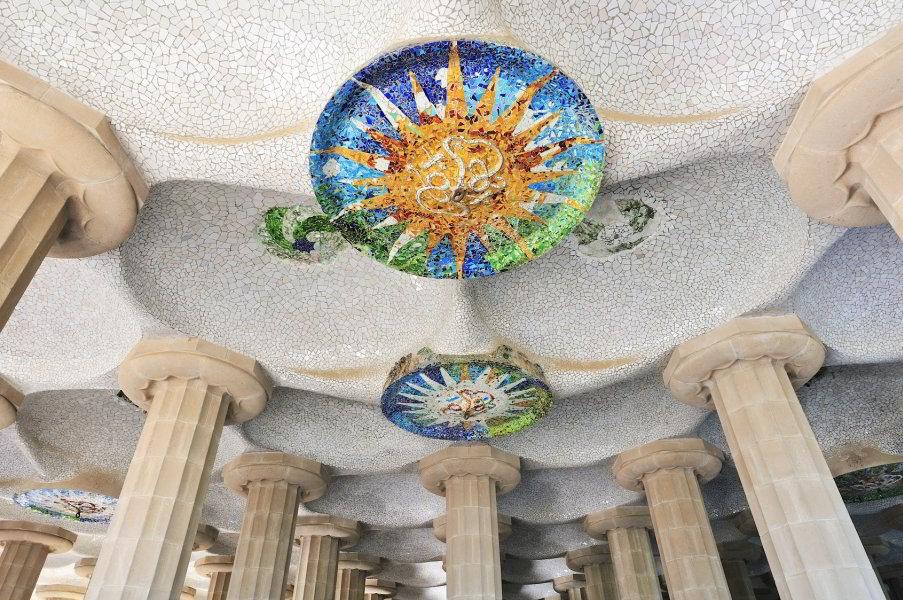 Sala Hpóstila del Parc Güell