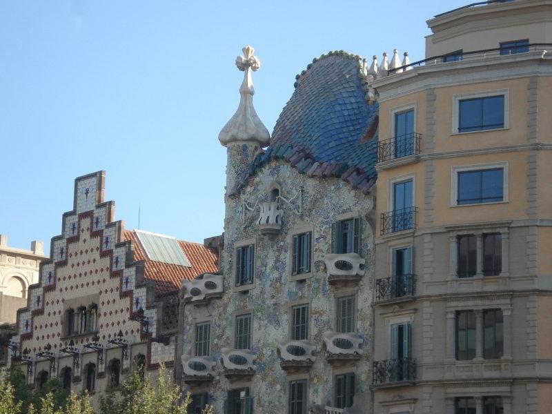 La Barcelona de Gaudí en Scooter