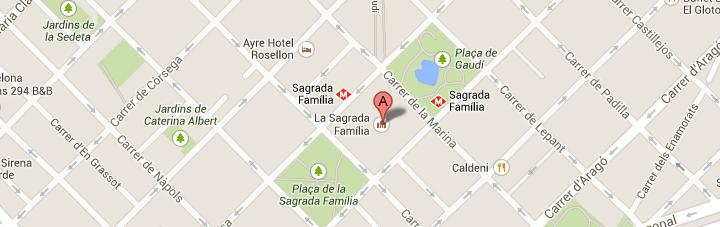 Punto de Salida Tour Sagrada Familia y Parc Guell